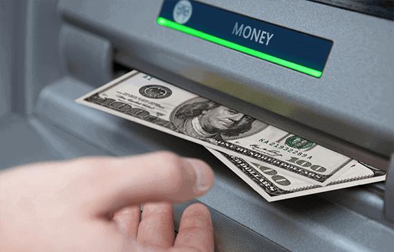 binární opce - výběr peněz