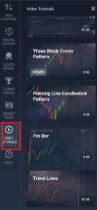 IQ Option obchodní strategie