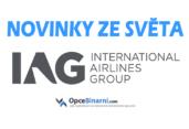 IAG zakládá další aerolinky, potěší cestující i investory