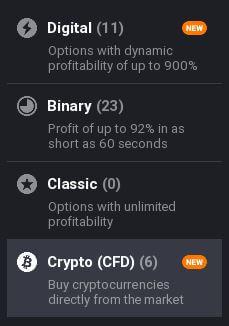 obchodní nabídka iq option