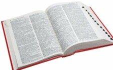 otevřená kniha - slovník