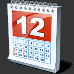 kalendář ikona