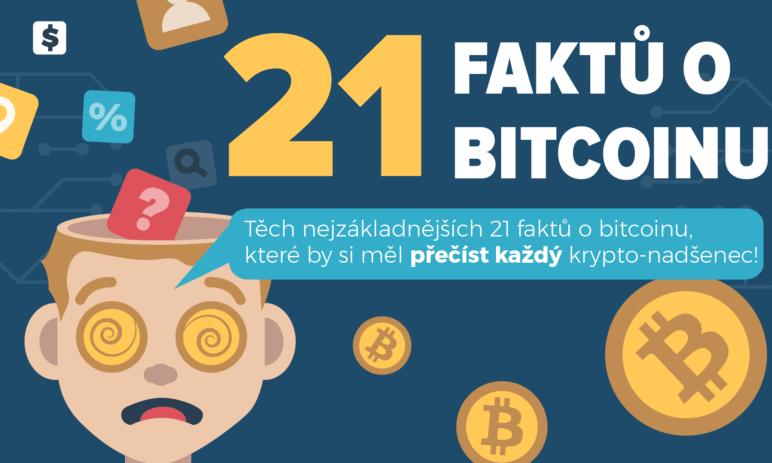 Bitcoin infografika - 21 zajímavých faktů o bitcoinu