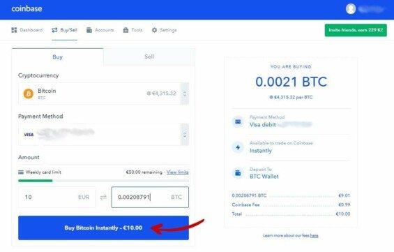Coinbase nákup kryptoměn