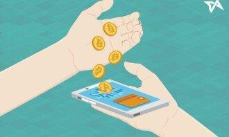 bitcoinová mobilní peněženka