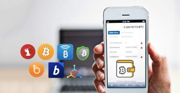 Mobilni penezenka na kryptomeny
