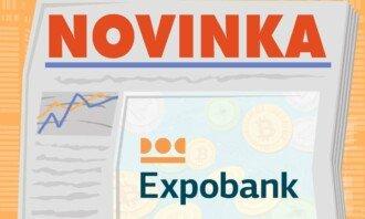novinka: expobank obchod kryptoměn