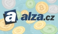 alza platba kryptoměnami bitcoin a litecoin