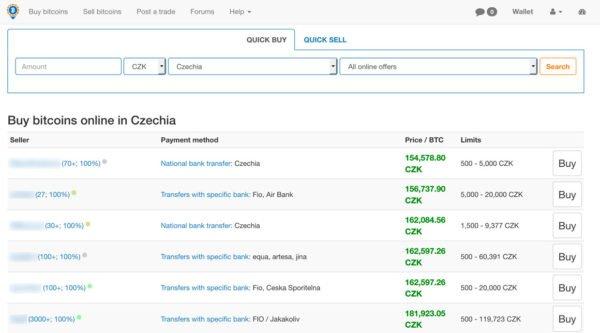 localbitcoins nabídky na webu