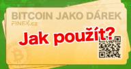 [Návod] Jak použít Bitcoin dárkový poukaz z Finex.cz