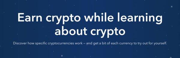 CoinBase Earn - Kryptoměny zdarma