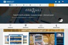 webové stránky arbolet.net