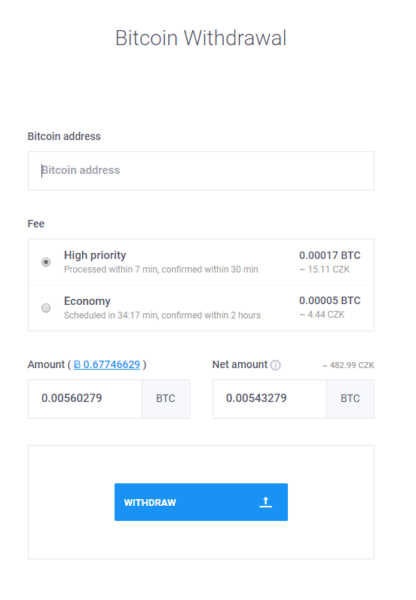coinmate vyber