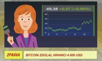 bitcoin zdolal hranici 4000 dolarů
