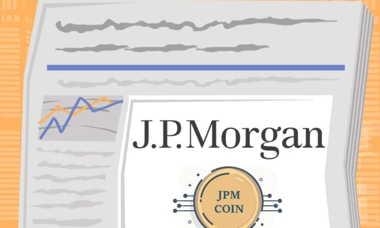 JPM coin - první bankovní kryptoměna na světě