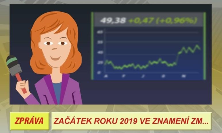 Začátek roku 2019 ve znamení změn na trhu kryptoměn