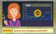 Kryptoměna Binance Coin (BNB) jako první dosahuje nového ATH!
