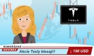 Akcie klesají, stahují se nad Teslou mračna?