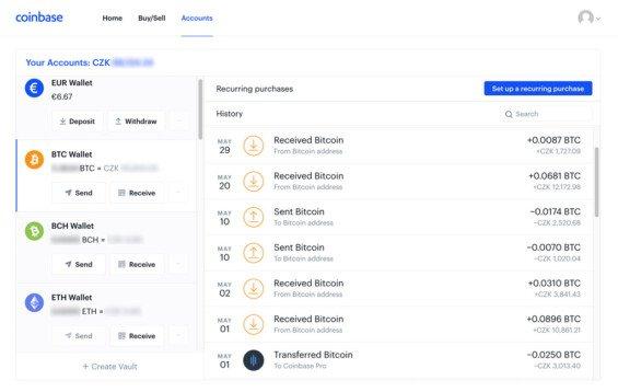coinbase - recenze platformy