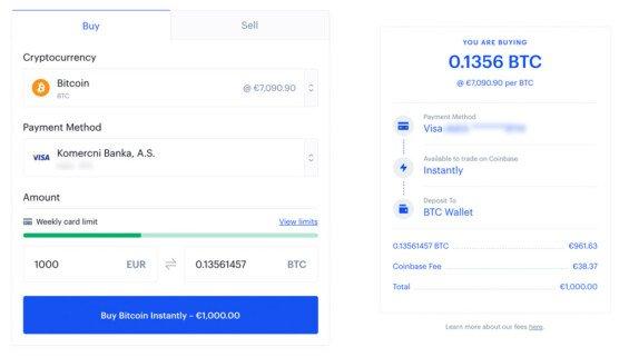 bitcoin recenze coinbase nakup kryptomen