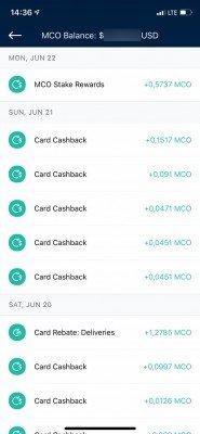 Crypto.com MCO platební karta cashback