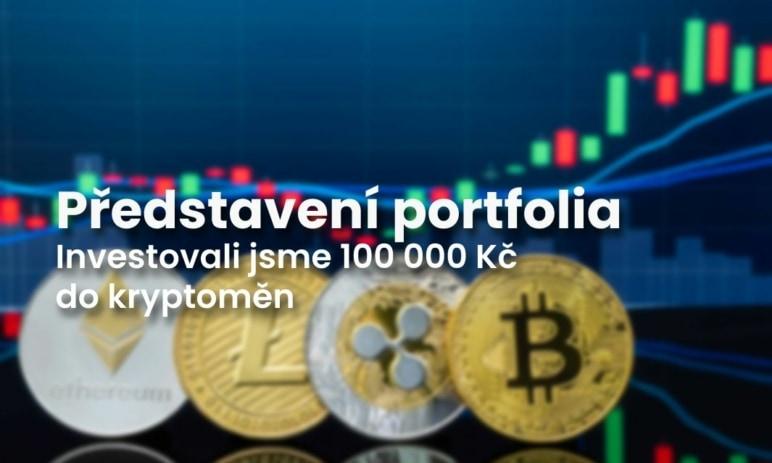(1) Investovali jsme 100 000 Kč do kryptoměn: Představení portfolia