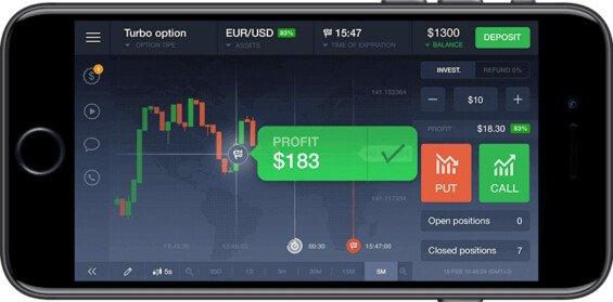 iqoption recenze mobilní platformy