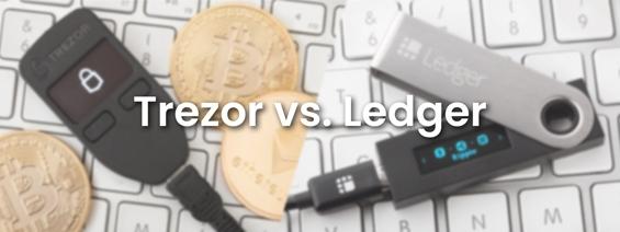 Souboj: Rozdíl Trezor a Ledger