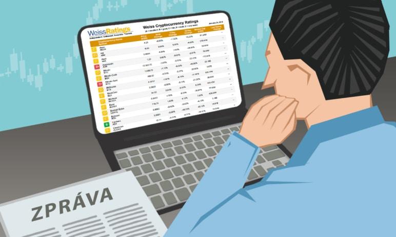 Weiss Crypto Rating: Kryptoměnám vládne EOS. Jak dopadl Bitcoin?