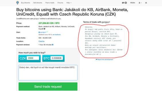 nakup bitcoin localbitcoin