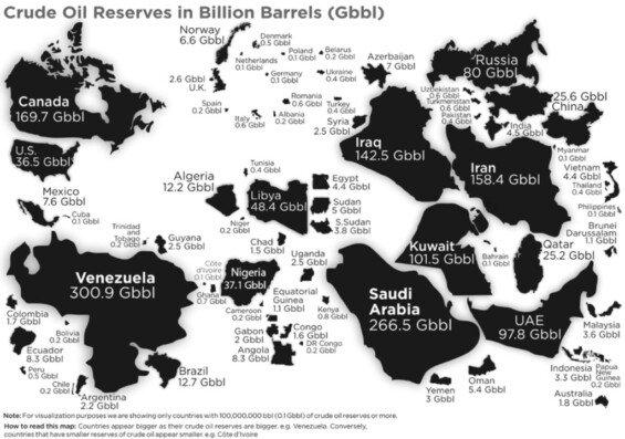 celosvětové zásoby ropy brent a wti