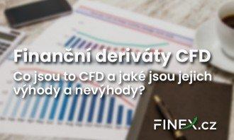 Finanční deriváty: CFD – Co je to CFD? Jaké má výhody a rizika?