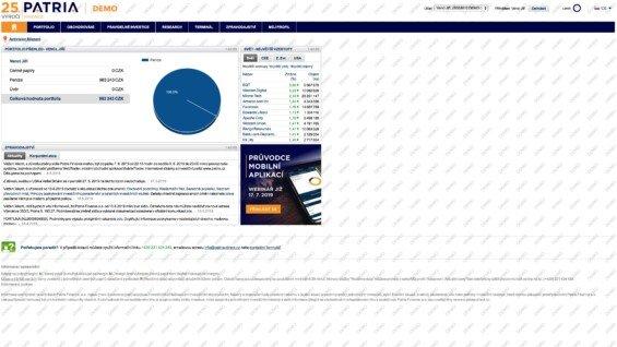 patria finance platforma