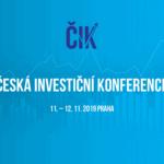 <strong>TIP:</strong> Chcetě vědět více o České investiční konferenci? Přečtěte si tento článek.