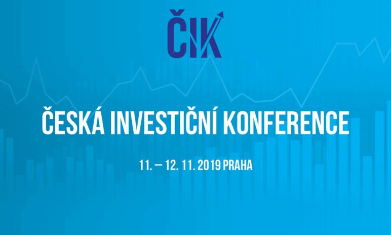 Hledáte nové možnosti jak investovat? Česká investiční konference vám je opět nabídne!