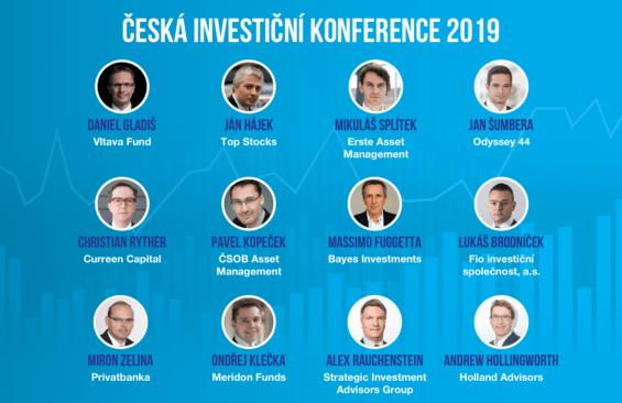 ceska investicni konference recnici
