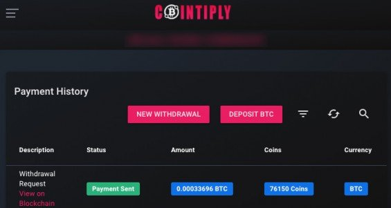 První kryptoměny (bitcoin) zdarma z Cointiply