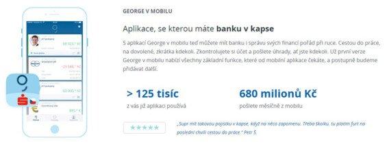 aplikace george ceska sporitelna