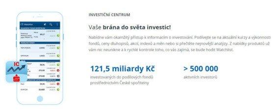 investicni centrum ceska sporitelna
