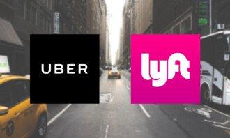 uber a lyft akcie
