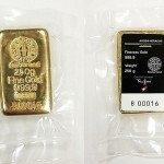 zlatá 250g cihlička