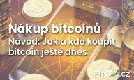 Návod: Jak koupit bitcoin? Nákup bitcoinu krok za krokem