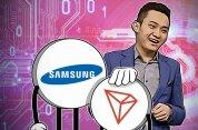 Samsung bude nově podporovat TRX na své Blockain Keystore App