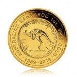 zlatí mince 1oz (trojská unce) kangaroo
