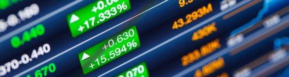 cena akcií rostla
