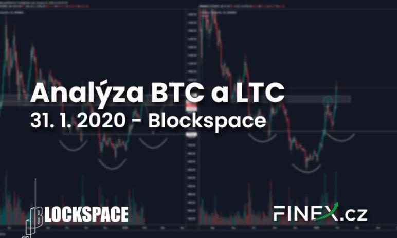 [BTC + LTC] Analýza trhu 31. 1. 2020 – Krátkodobě očekávám pád!