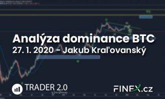 [Bitcoin] Analýza trhu 27. 1. 2020 – Finální růst tohoto cyklu přijde po korekci