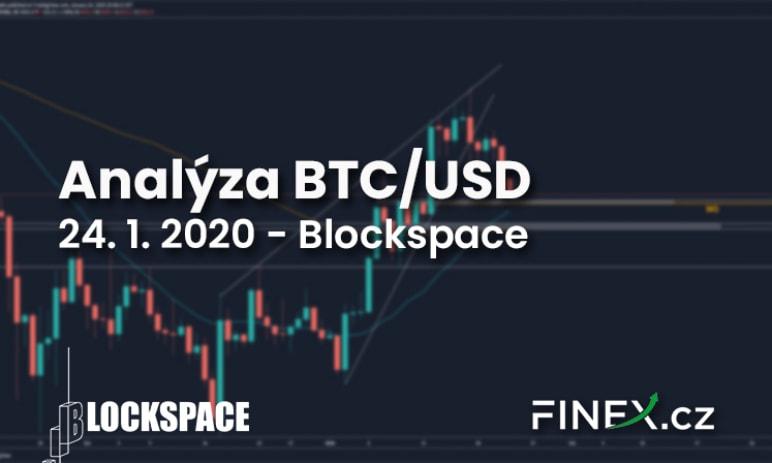 [BTC/USD] Analýza trhu 24. 1. 2020 - Brzy očekávejme pohyb vzhůru