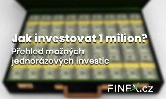 jak investovat milion