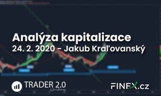 [Altcoiny] Analýza 24. 2. 2020 – Kapitalizace altcoinů